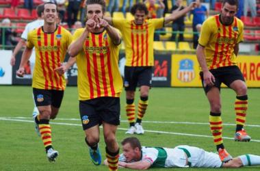 Francis Ferrón salió, marcó y le dió la victoria a su equipo. | FOTO: Judit Andreu