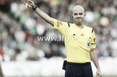 Pablo González Fuertes, árbitro del Albacete - Almería de la jornada 6