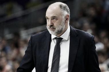Pablo Laso quiere cazar al CSKA en la tabla   Foto: RealMadrid.com