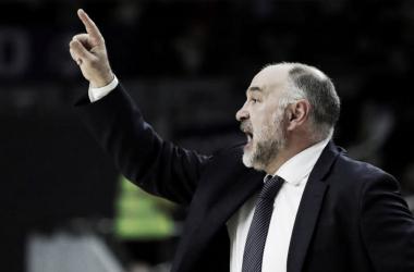 Pablo Laso no se fía del equipo heleno | Foto: ACB.com