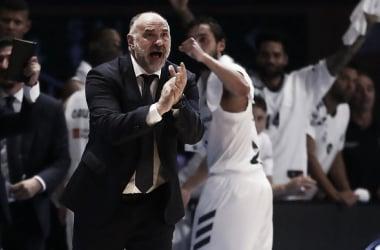 Pablo Laso dando instrucciones en la final | Foto: ACB.com
