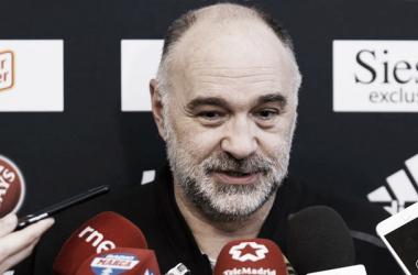 Pablo Laso en rueda de prensa | Foto: ACB.com