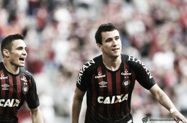 Com três gols, Pablo lidera artilharia do Atlético na Sul Americana (Miguel Locatelli / CAP)