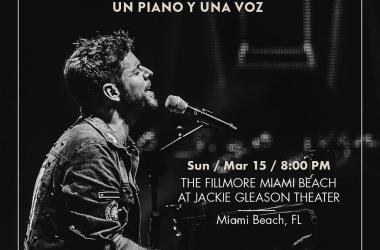 Pablo López ofrecerá su primer concierto en Miami
