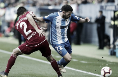 El Málaga CF anuncia la baja de Dani Pacheco por lesión