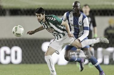 Fábio Pacheco a caminho da Madeira.