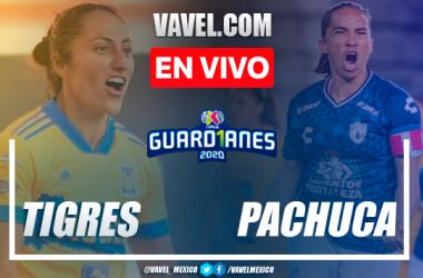 Goles y resumen: Tigres Femenil 4-1 Pachuca Femenil en Liguilla Guard1anes 2020