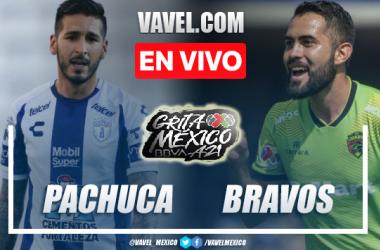 Goles y resumen del Pachuca 1-1 FC Juárez en Liga MX