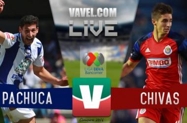 Justo y emocionante empate entre Chivas y Pachuca en el Hidalgo