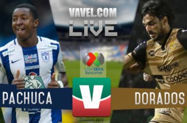 Resultado del partido Pachuca - Dorados en Liga MX 2016 (2-2)