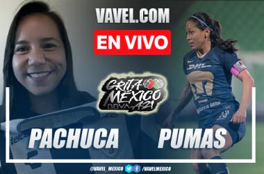 Goles y resumen del Pachuca Femenil 1-1 Pumas Femenil en Liga MX Femenil 2021