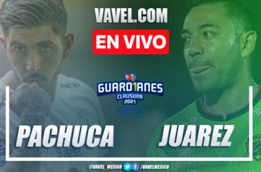 Goles y resumen: Pachuca 1-1 Juarez en Liga MX Guardianes 2021