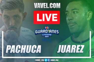 Goals and Highlights Pachuca 1-1 Juarez, Guard1anes 2021 Liga MX