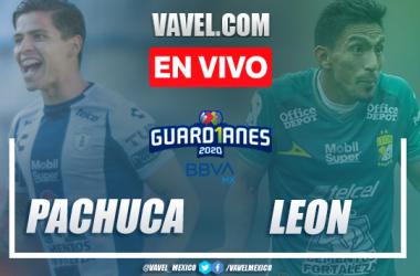 Goles y resumen del Pachuca 0-1 León en el Guard1anes 2020