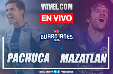 Goles y resumen: Pachuca 4-3 Mazatlán en Liga MX 2020