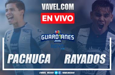 Goles y resumen: Pachuca 1-1 Rayados en Guard1anes Liga MX 2020