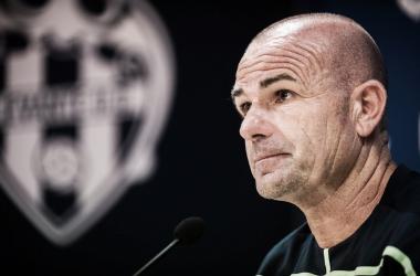 """Paco López: """"La respuesta del equipo al gol ha sido pasar por encima al Alavés"""""""