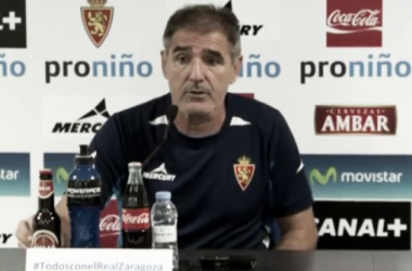 """Herrera: """"El Zaragoza no debe de entregar la Copa"""""""
