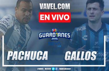 Pachuca vs Gallos Querétaro EN VIVO transmisión TV online en Liga MX (0-0)