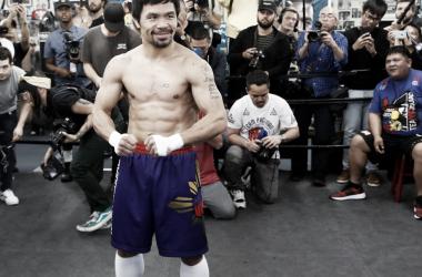 Manny tendrá su primera pelea en Estados Unidos desde noviembre de 2016 (Foto: Damian Dovarganes | AP)