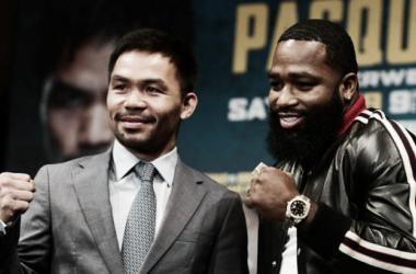 <div>Pacquiao y Broner protagonizarán una de las peleas más atrayentes en el comienzo de 2019 (Foto: Sarah Stier   AFP)</div><small><strong></strong></small>