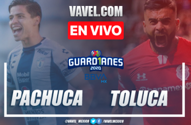 Resumen del partido Pachuca 0-0 Toluca en Jornada 12 del Guard1anes 2020