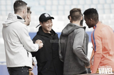 Paik se reincorpora al Barcelona B tras jugar el Mundial