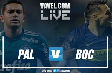 Resultado e gols para Palmeiras 2x2 Boca Juniors pela Libertadores 2018