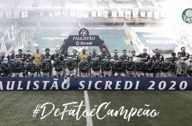 É campeão! Palmeiras bate Corinthians nos pênaltis e conquista Campeonato Paulista de 2020