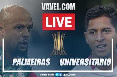 Gols e melhores momentos para Palmeiras x Universitario pela Libertadores (6-0)