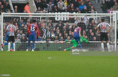 Newcastle United 0-1 Crystal Palace: Hodgson's men edge out win
