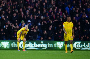 It was another miserable afternoon at Selhurst Park for Brendan Rodgers' Reds on Sunday.
