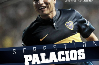 Sebastián Palacios, nuevo refuerzo de Talleres