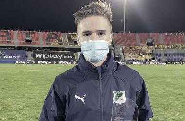Otro gran partido para Agustín Palavecino