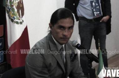 Francisco Palencia en conferencia de prensa tras la derrota ante América (Foto: Diego Farell / VAVEL)