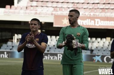Ortolá, baja sensible en el FC Barcelona B | FOTO: Noelia Déniz