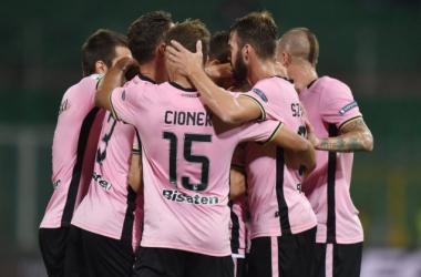 Facile successo per il Palermo - Foto: Twitter Palermocalcioit
