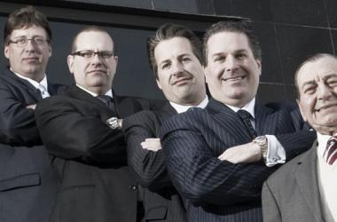 Angelo Paletta (segundo por la derecha) junto a su padre y hermanos lidera la iniciativa familiar | Foto paletta.ca