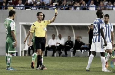 Pérez Pallas, árbitro para el choque entre Huesca y Sporting
