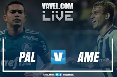 Resultado e gols de Palmeiras 4x0 América-MG