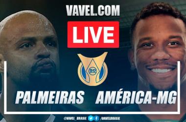 Gols e melhores momentos Palmeiras x América-MG pelo Campeonato Brasileiro 2021 (2-1)