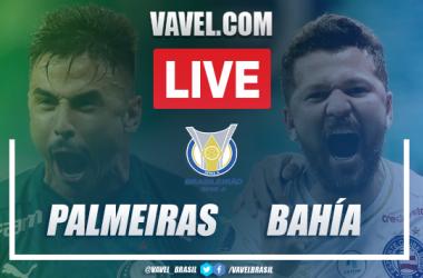 Gols e melhores momentos para Palmeiras 3x0 Bahia pelo Campeonato Brasileiro