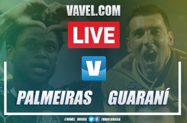 Gols e melhores momentos Palmeiras 3x1 Guaraní pela Libertadores 2020