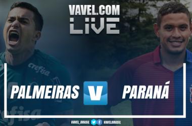 Resultado Palmeiras 3 x 0 Paraná pelo Campeonato Brasileiro 2018