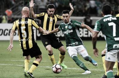 Palmeiras poupará jogadores para o duelo (Foto: Divulgação/Peñarol)