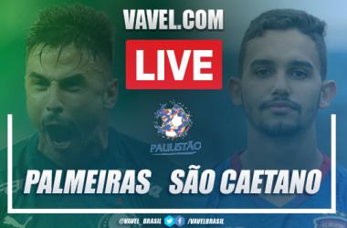 Gols e melhores momentos para Palmeiras 3x0 São Caetano pelo Campeonato Paulista