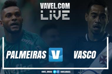 Palmeiras x Vasco AO VIVO hoje (1-0)