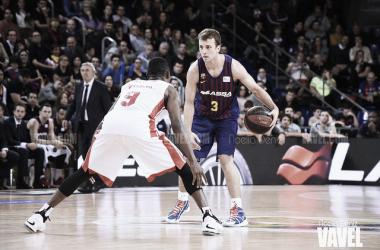 Pangos durante un partido de ACB (vía: Noelia Déniz)