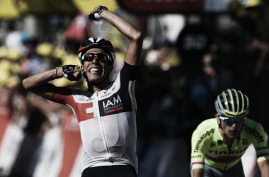 Jarlinson Pantano secured his first Tour de France stage victory after impressive day