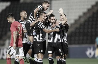 PAOK eliminou Benfica da UEFA Champions League 2020/2021 (Foto: Divulgação / UEFA)